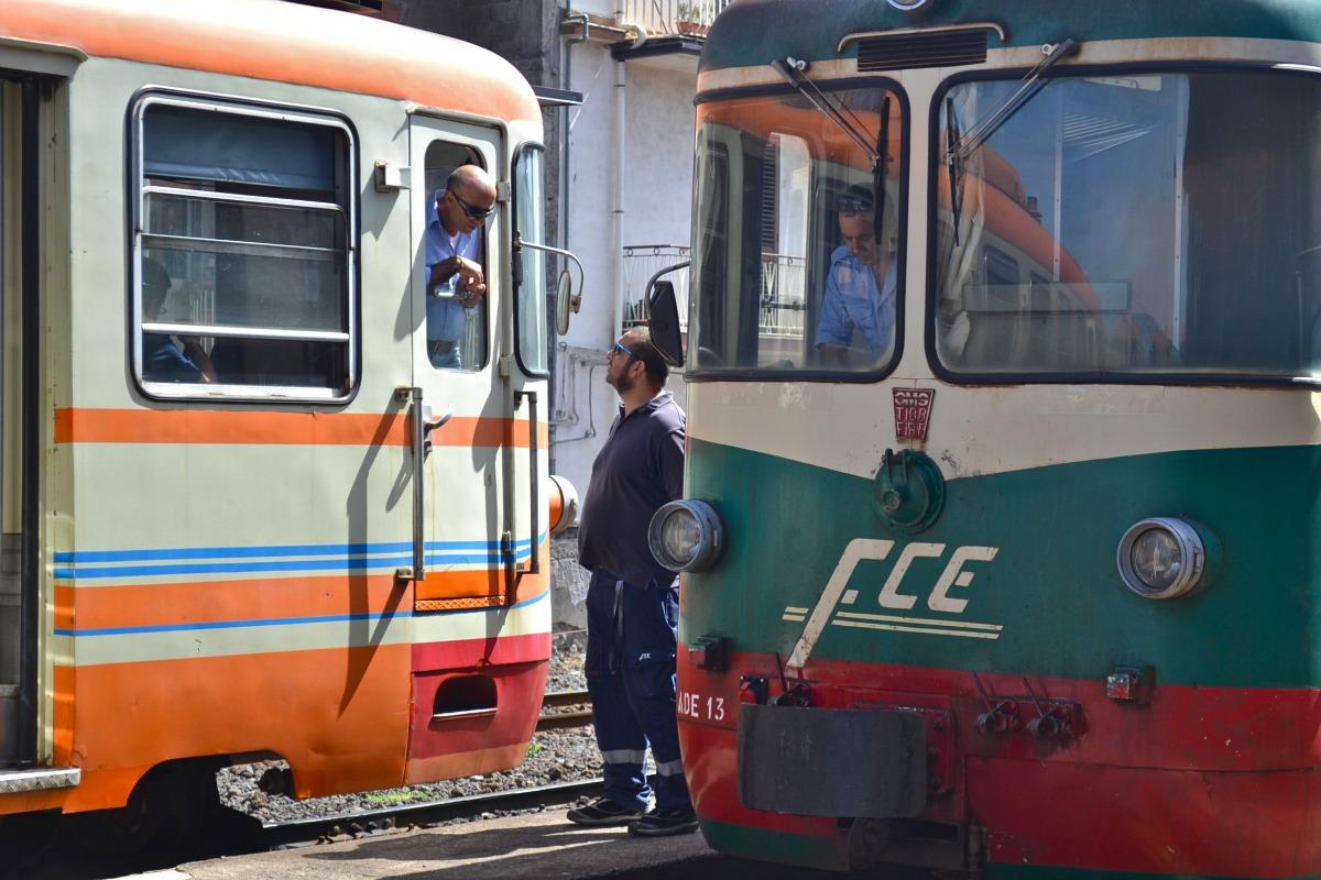 Tren Circumetnea Italia