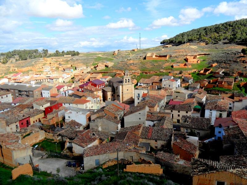 Parte vieja de Arcos de Jalón. Foto: Virginia Martínez Escalona