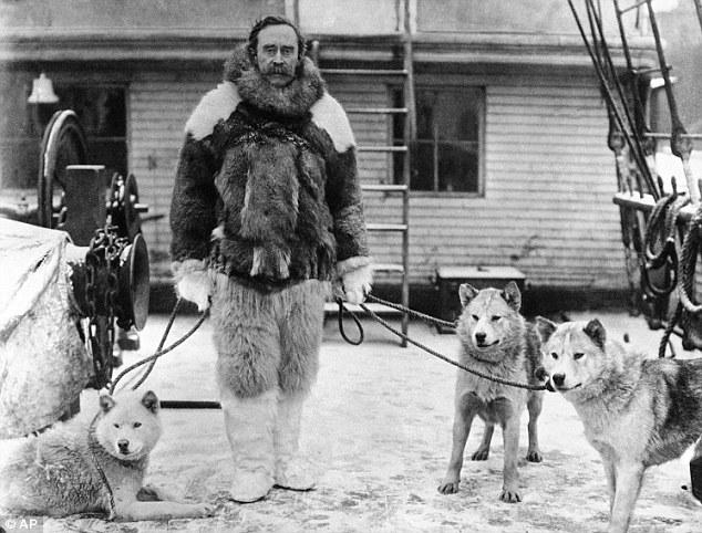 Robert E. Peary,  explorador estadounidense que alegó haber sido la primera persona en llegar al Polo Norte, el 6 de abril de 1909 |Fotografía:  www.literaturadeviajes.com
