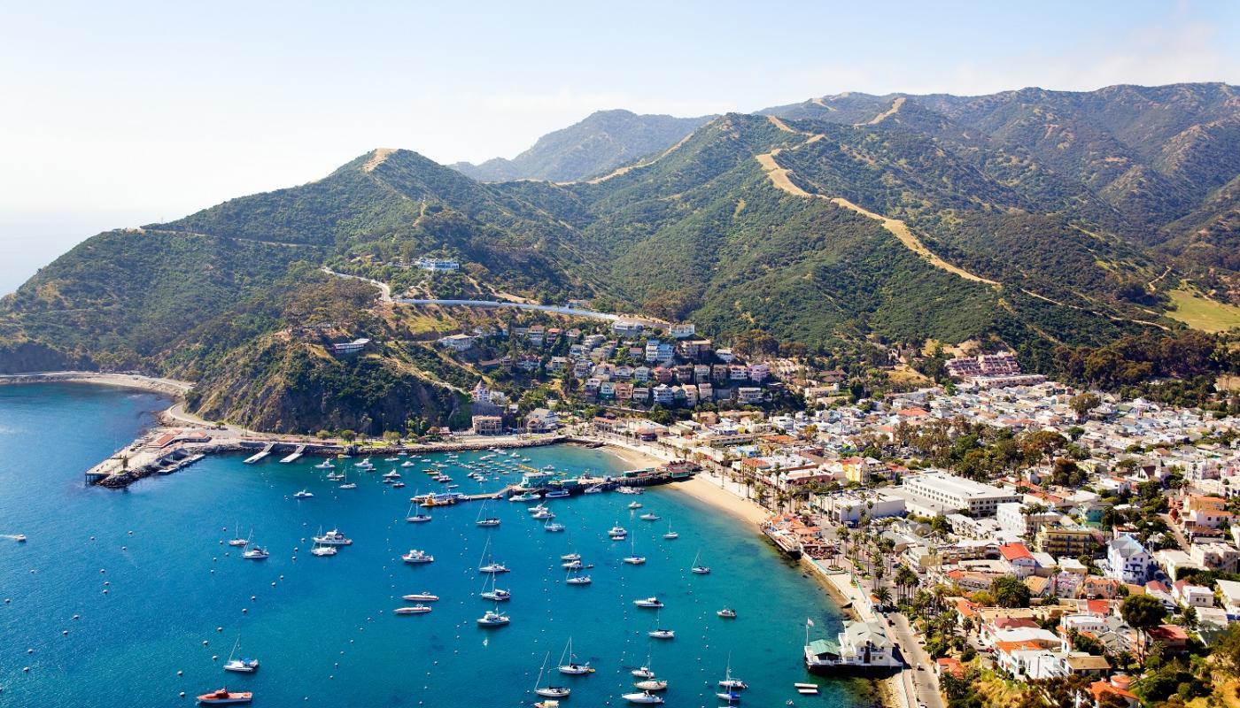 Isla Catalina, en Los Ángeles, California. |Fotografía: Catalina Island
