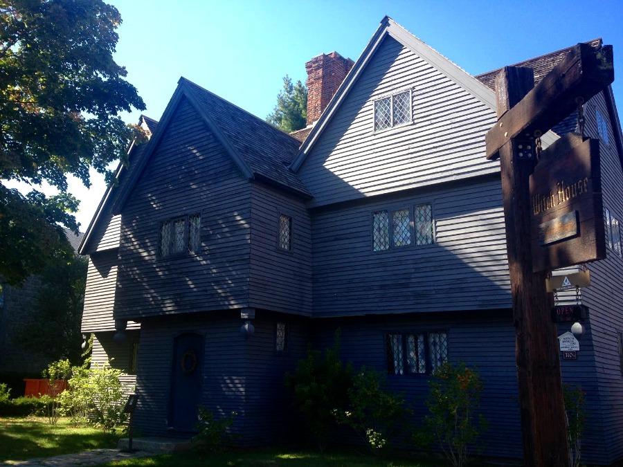 La casa de quien durante los linchamientos, fungía como juez, Jonathan Corwin. Hoy es un museo.  Fotografía: Nina Pizá