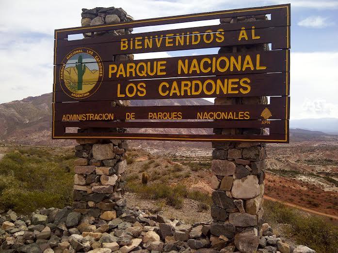 Entrada al Parque Nacional Los Cardones, en la provincia de Salta, Argentina. |Fotografía: Carmina Balaguer