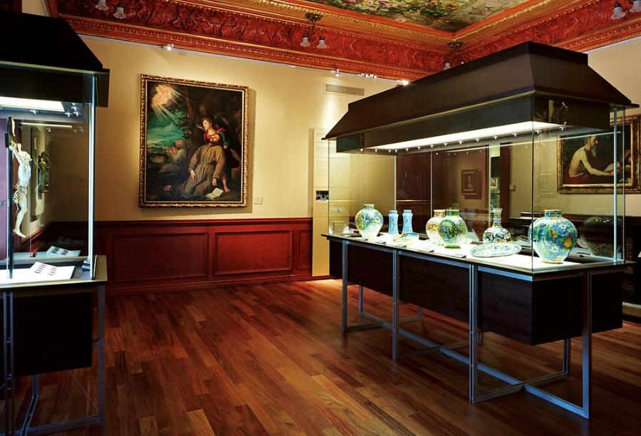 Una de las salas del museo Lázaro Galdiano. |Fotografía: Arlene Bayliss