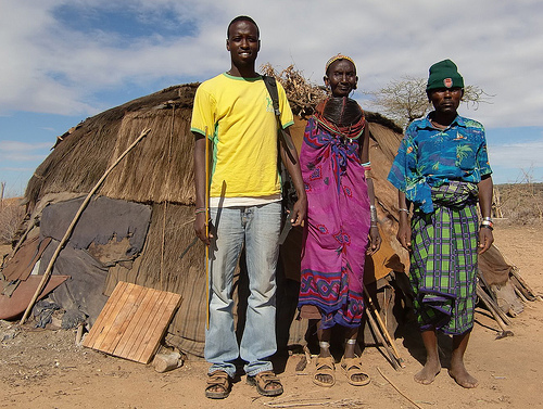 Residentes en Sawla| Fotografía: ilri.org
