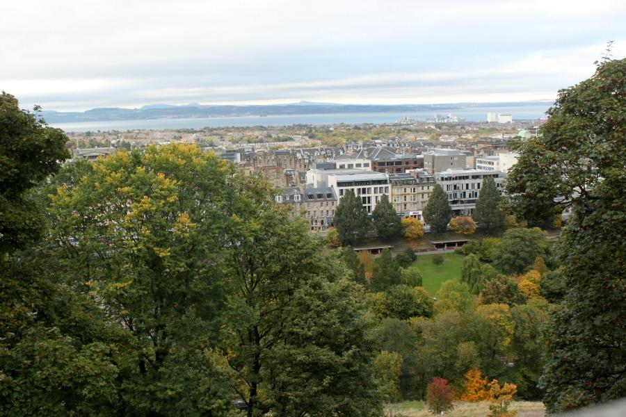 Old Town desde el Castillo de Edimburgo. |Fotografía: Arlene Bayliss