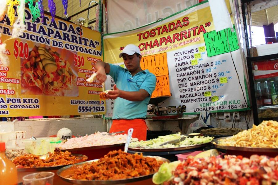 Mercados en la Ciudad de México  Fotografías: Arlene Bayliss