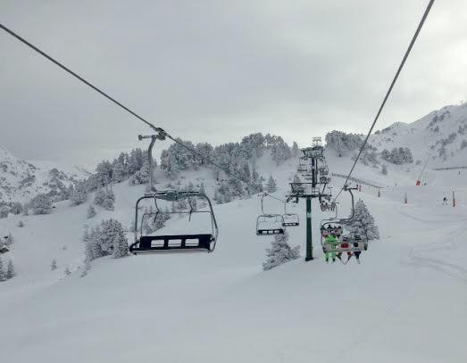 La estación de esquí Baqueria, Pirineo Catalán. |Fotografía: Sara Cristina Espinoza