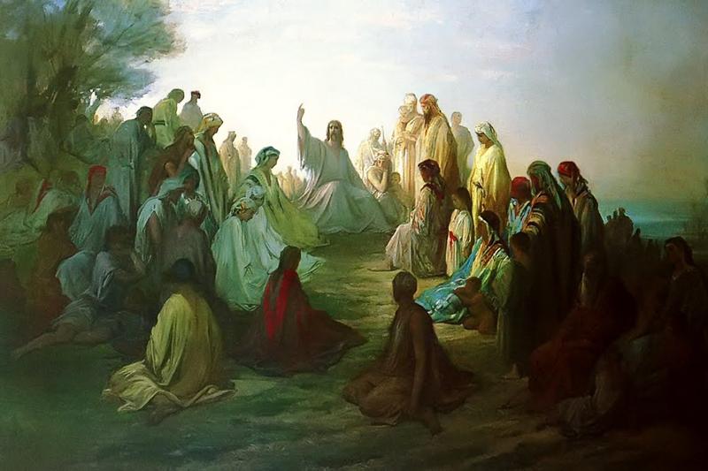 El Sermón de la Montaña, una de las más famosas prédicas de Jesucristo citadas en la Biblia.