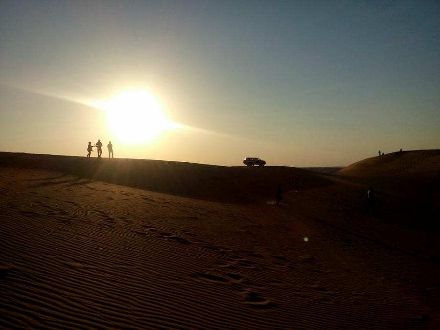 En el Dubai Desert Conservation Reserve |Fotografía: Johana Milà de la Roca