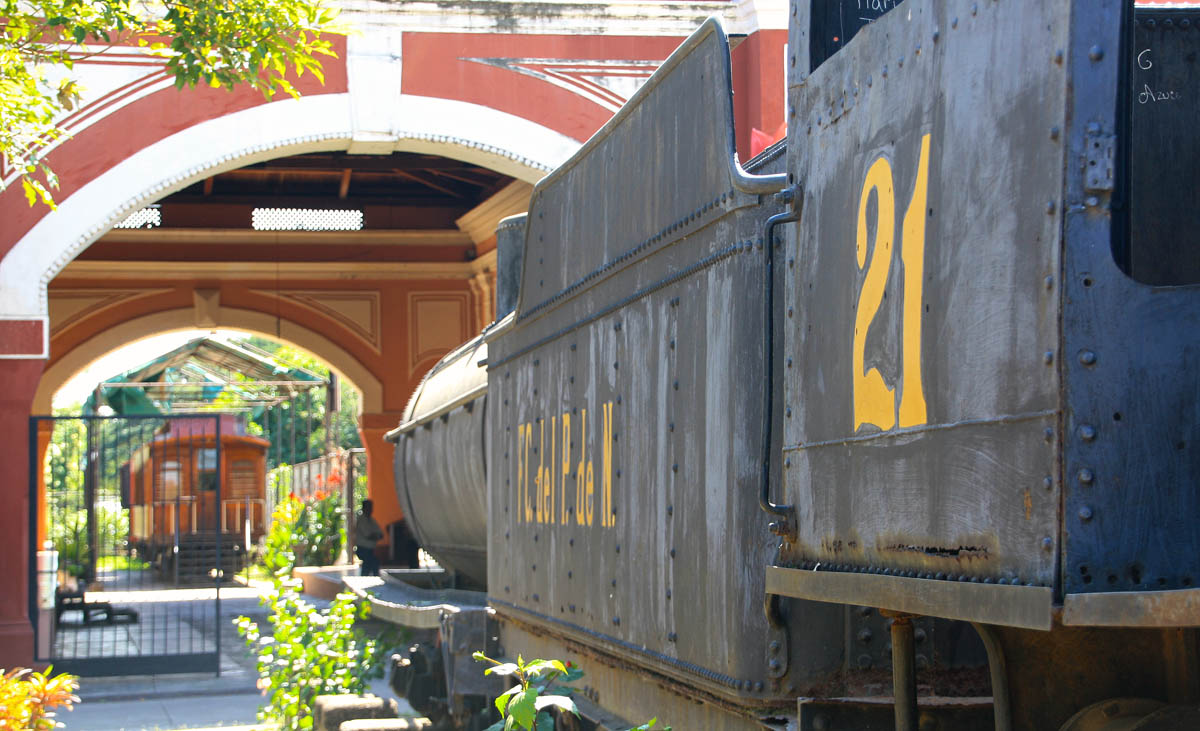 Museo del ferrocarril de Nicaragua | José Alejandro Adamuz