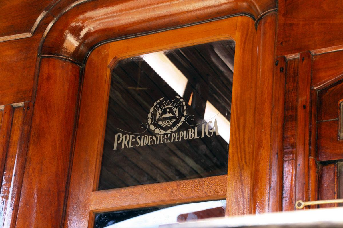 El vagón presidencial de un tren que dejó de circular para exponerse en un museo. | José Alejandro Adamuz