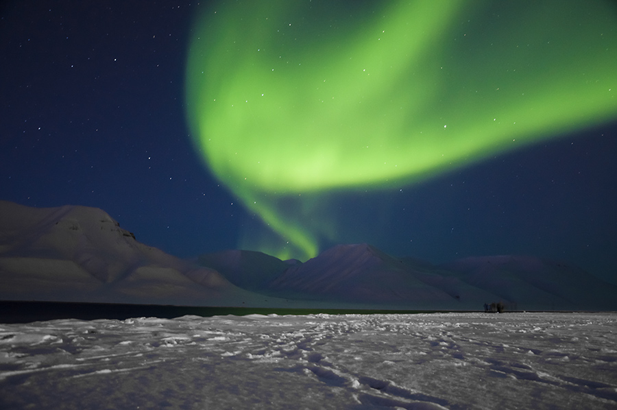 Las luces hicieron acto de presencia. |Fotografía: Dani Keral