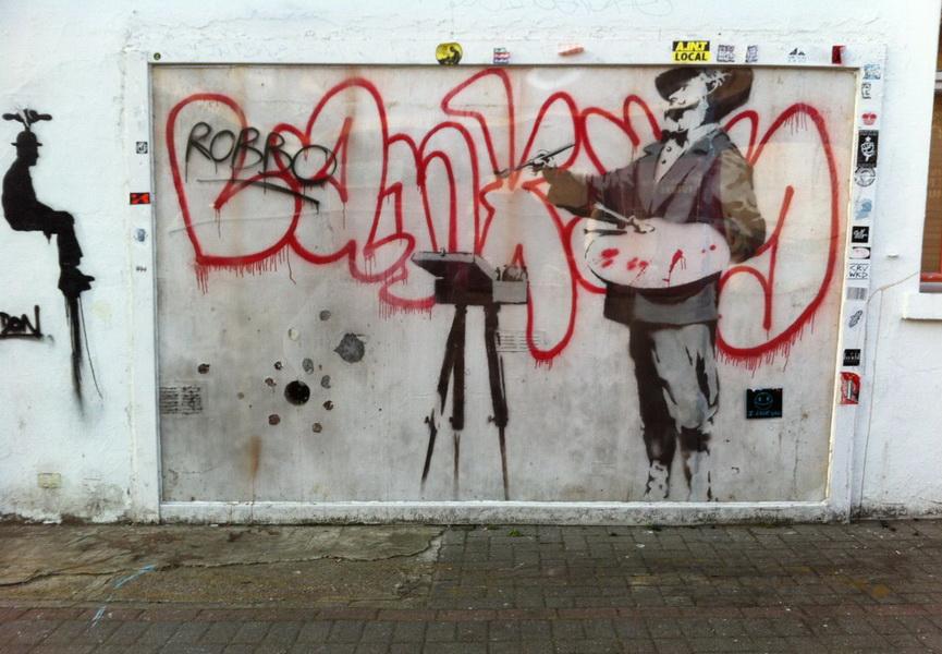 Banksy en Notthing Hill