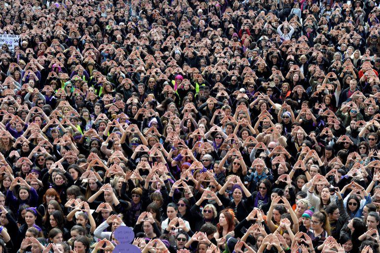 Mujeres en Bilbao 8M