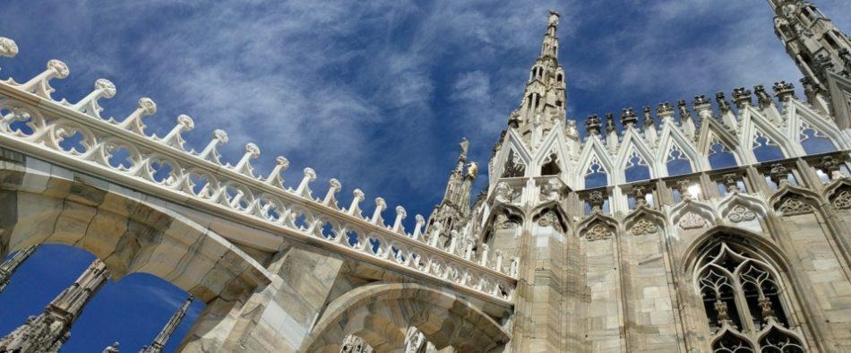 Viaje a Milán, ejercicio de la contemplación