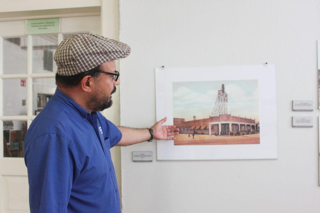 Óscar Hernández, Archivo Histórico de Mexicali