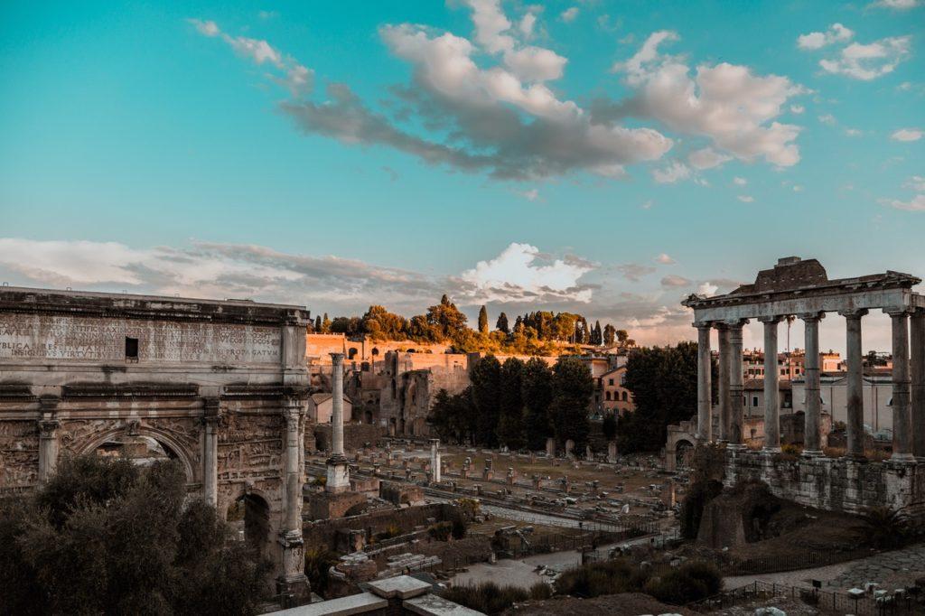 Roma sin turistas