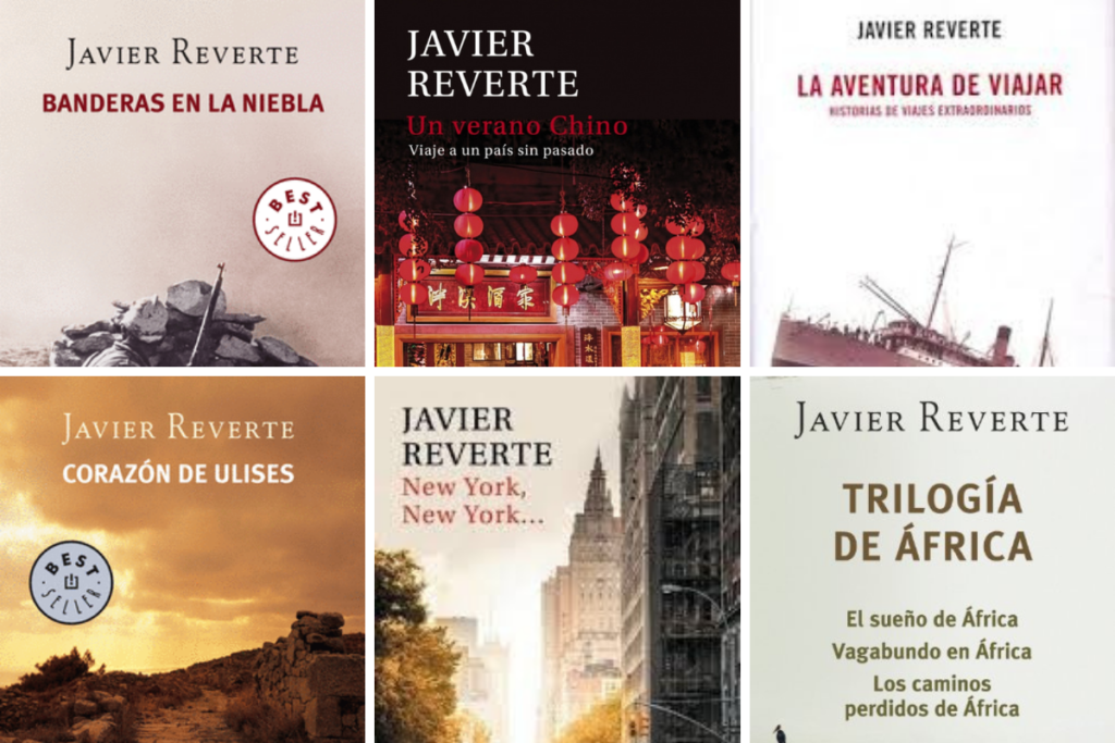 Libros de Javier Reverte