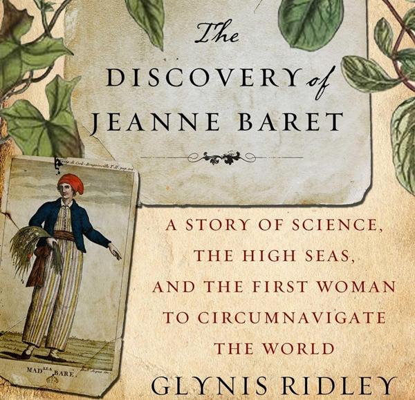 """Portada del libro """"El descubrimiento de Jeanne Baret"""""""