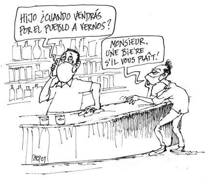 El turismo regenerativo y sostenible en viñetas de Miguel Porres